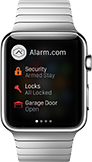 Control Your Security System From Your Apple Watch!