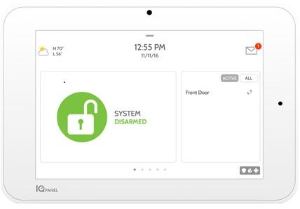Qolsys IQ 2 Plus Security Panel